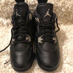 Jordan 4 worn once inside